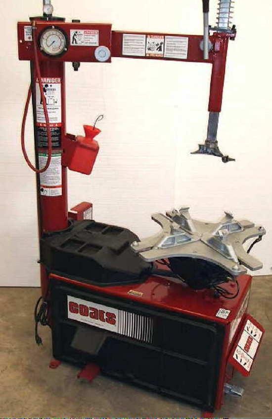 coats tire mounting machine
