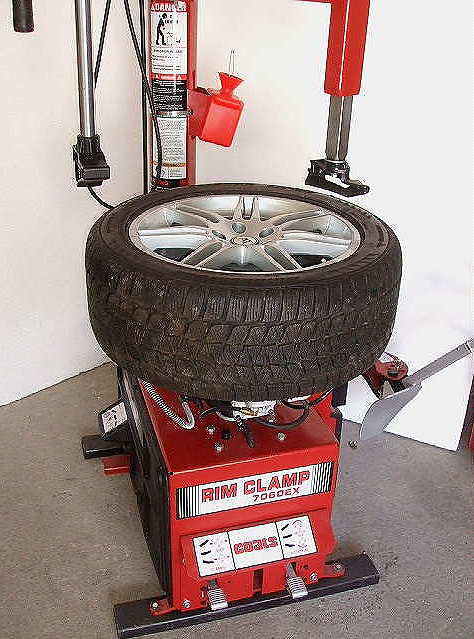 how to build a tire changer
